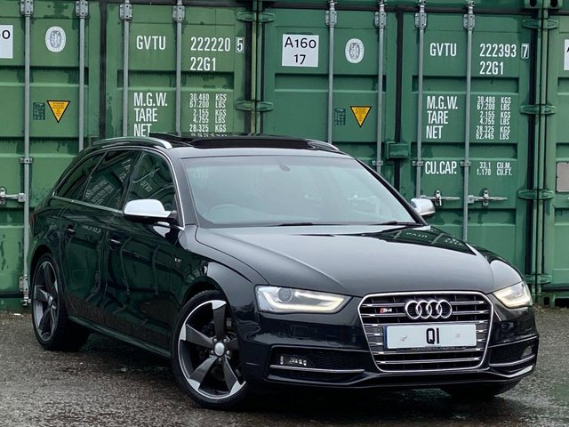 USED 2013 13 AUDI A4 3.0 TFSI V6 S Tronic quattro 5dr BUY ONLINE + FREE DELIVERY