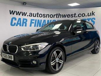 2015 BMW 1 SERIES 2.0 118D SPORT 3d 147 BHP £10000.00