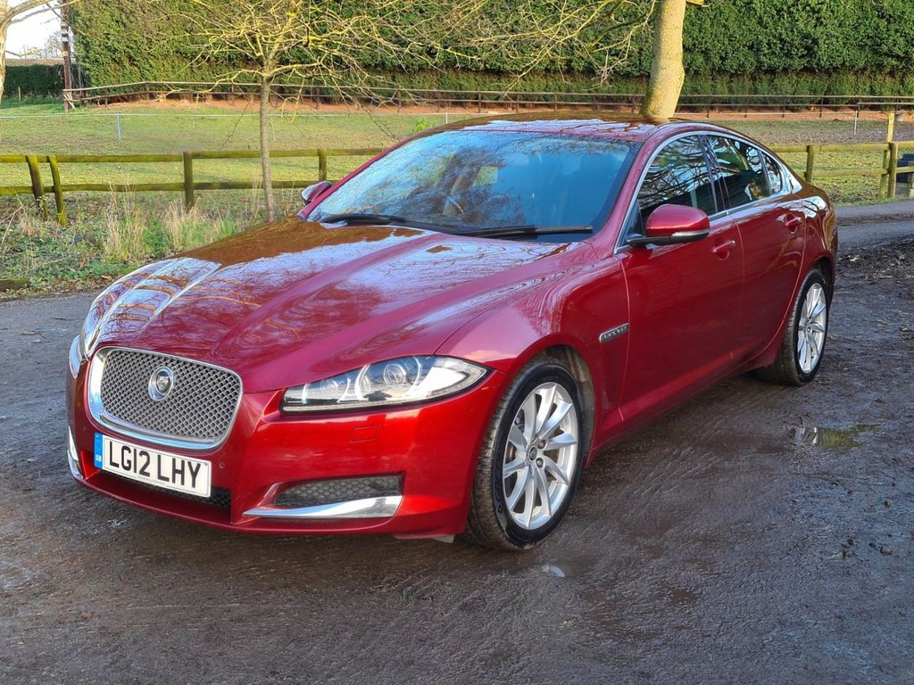 USED 2012 12 JAGUAR XF 3.0 V6 PREMIUM LUXURY 4d 240 BHP +++REVERSING CAMERA+++