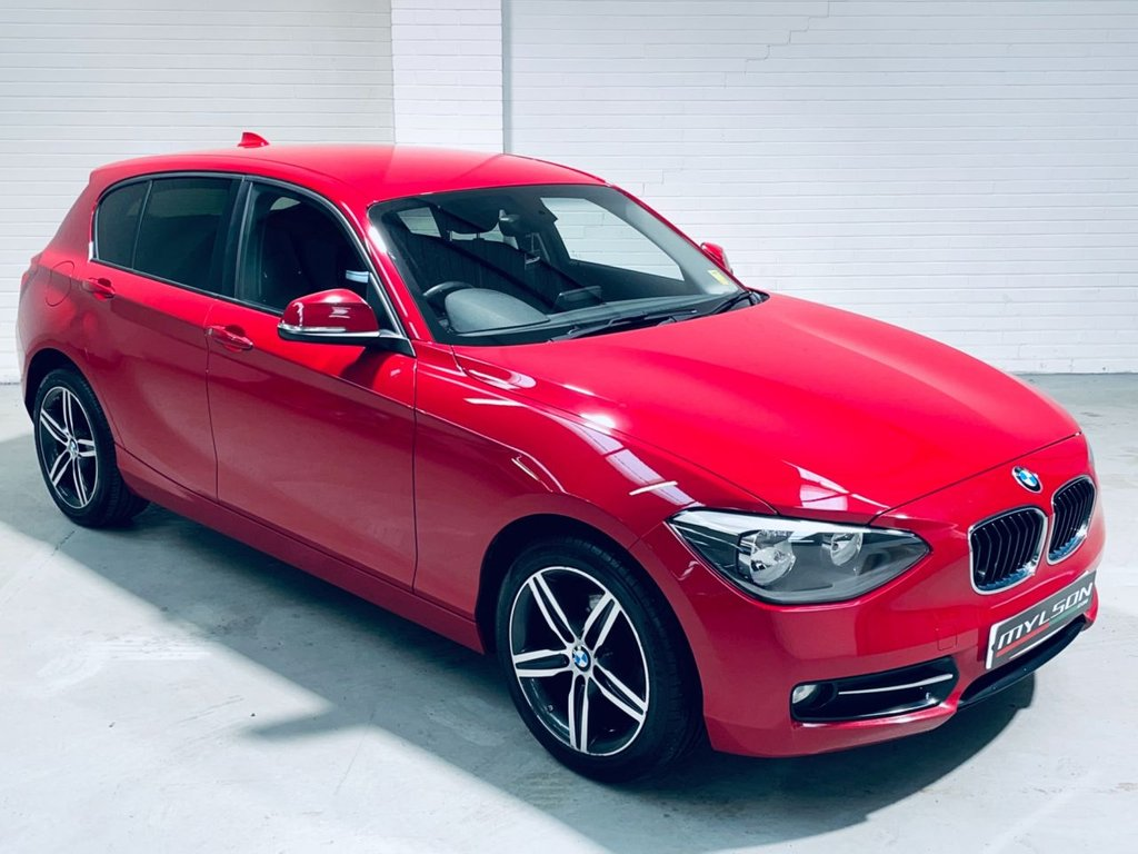 USED 2014 64 BMW 1 SERIES 2.0 116D SPORT 5d 114 BHP Media Pack with Sat Nav, Bluetooth, Privacy Glass, £30 Road Tax