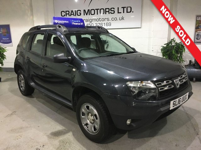 2016 16 DACIA DUSTER 1.5L AMBIANCE DCI 5d 109 BHP