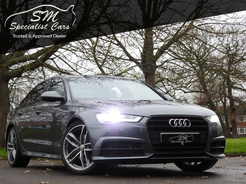 USED 2016 66 AUDI A6 2.0 TDI ULTRA BLACK EDITION 4d 188 BHP HUGE SPEC SAT NAV FSH VAT Q