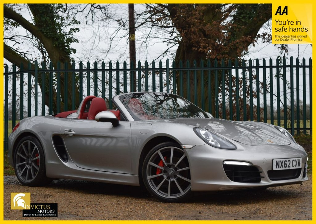 USED 2012 62 PORSCHE BOXSTER 3.4 987 S 24V S PDK 2d 315 BHP