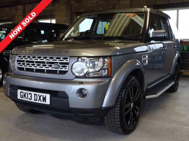 USED 2013 13 LAND ROVER DISCOVERY 4 3.0 4 SDV6 HSE 5d 255 BHP 7 LANDROVER STAMPS. 1 OWNER