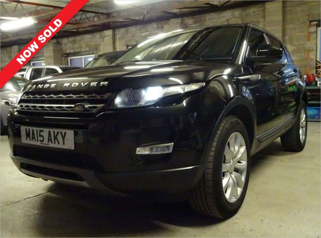 USED 2015 15 LAND ROVER RANGE ROVER EVOQUE 2.2 SD4 PURE TECH 5d 190 BHP 5 MAIN DEALER STAMPS.