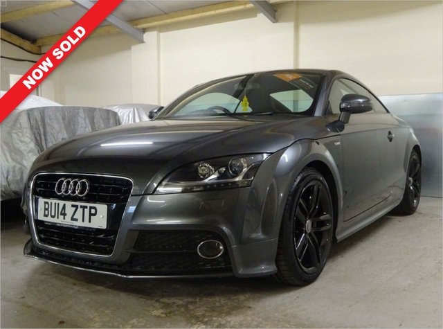 USED 2014 14 AUDI TT 1.8 TFSI S LINE 2d 158 BHP 6 SERVICE STAMPS/JUST DONE