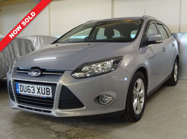 USED 2013 63 FORD FOCUS 1.6 ZETEC TDCI 5d 113 BHP 6 SERVICE STAMPS