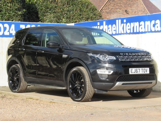 USED 2017 67 LAND ROVER DISCOVERY SPORT 2.0 TD4 HSE LUXURY 5d 180 BHP IMMACULATE CAR