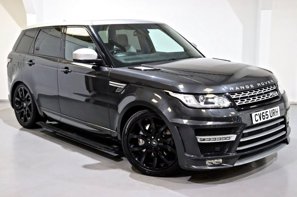 USED 2015 65 LAND ROVER RANGE ROVER SPORT 3.0 SDV6 LUMMA EDITION HSE 5d 306 BHP