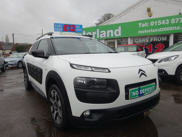 USED 2016 16 CITROEN C4 CACTUS 1.6 BLUEHDI FLAIR 5d 98 BHP **BUY NOW PAY NEXT YEAR**
