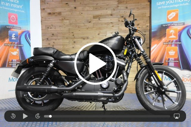 USED 2018 17 HARLEY-DAVIDSON SPORTSTER 883cc XL 883 N IRON 17 - 1 Owner