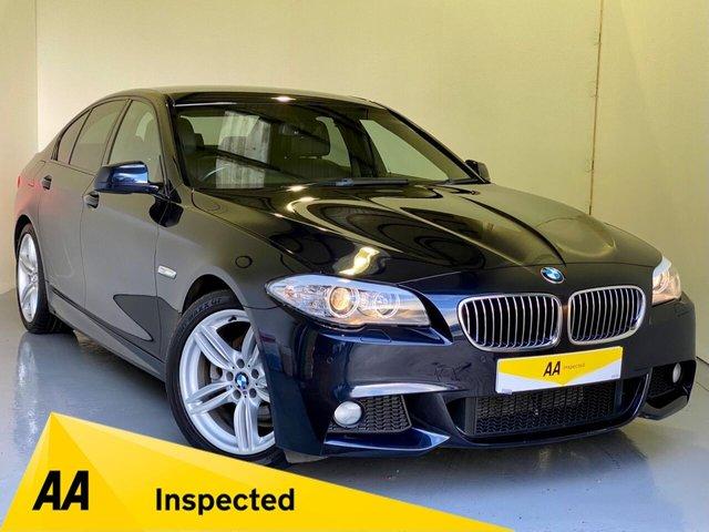 USED 2013 13 BMW 5 SERIES 2.0 520D M SPORT 4d 181 BHP AA INSPECTED + AA WARRANTY!
