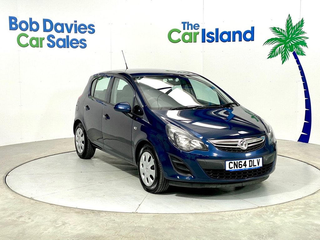 USED 2014 64 VAUXHALL CORSA  1.3 CDTI 16V 75 E/F DESIGN S/S Waterworld Blue Metallic 48000 miles 1 Owner Over 80MPG