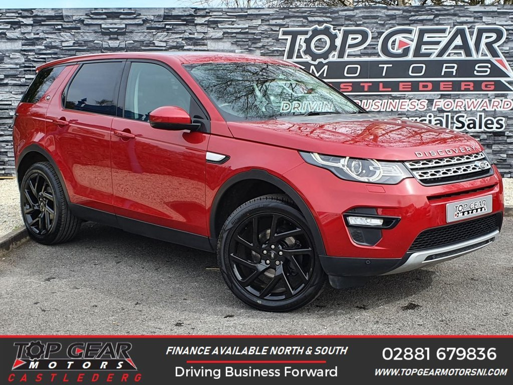 USED 2016 66 LAND ROVER DISCOVERY SPORT 2.0 TD4 180 BHP HSE AUTO 7 SEATER 7-SEATER, PAN SUNROOF, HEATED SEATS, UPGRADED ALLOYS EXTRA