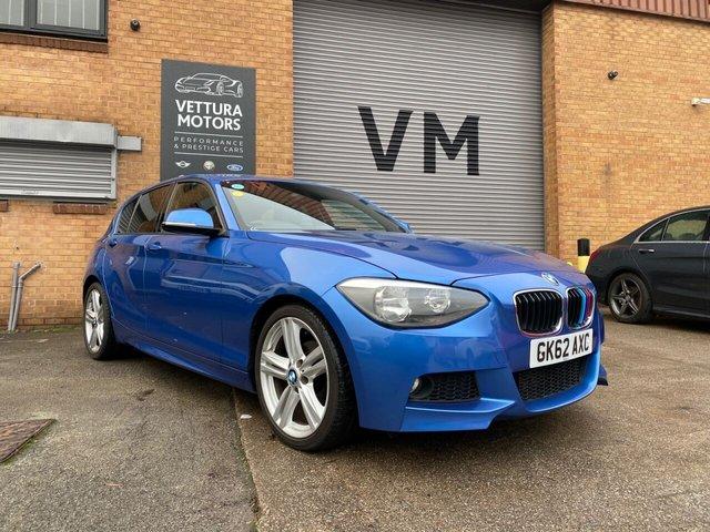 USED 2012 62 BMW 1 SERIES 2.0L 118D M SPORT 5d AUTO 141 BHP