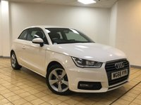 USED 2016 66 AUDI A1 1.4 TFSI SPORT 3d Petrol Hatchback Stunning in White with DAB Digital Radio Bluetooth and Full Service History now Ready to Finance and Drive Away SIMPLY STUNNING HATCHBACK WITH LOW MILEAGE AND ONE FORMER KEEPER