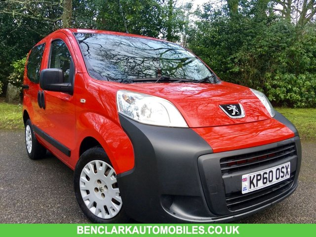 2010 60 PEUGEOT BIPPER 1.4 TEPEE S HDI 5d 68 BHP\\30 POUND ROAD TAX// GREAT LOW MILAGE ONLY 48,800 MILES//JUST SERVICED BY US//ALL MOT ADVISORIES COMPLETED//