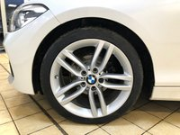 USED 2015 65 BMW 1 SERIES 2.0 118D M SPORT 5d Family Hatchback AUTO Stunning in Whiite with Sat Nav DAB Digital Radio and Parking Sensors all round. Recent Service & MOT Ready to Finance and Drive Away 1 Former Keeper + Low Mileage for Age