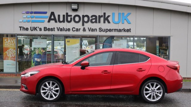 USED 2017 17 MAZDA 3 1.5 D SPORT NAV 4d 104 BHP . LOW DEPOSIT OR NO DEPOSIT FINANCE AVAILABLE . COMES USABILITY INSPECTED WITH 30 DAYS USABILITY WARRANTY + LOW COST 12 MONTHS ESSENTIALS WARRANTY AVAILABLE FROM ONLY £199 (VANS AND 4X4 £299) DETAILS ON REQUEST. ALWAYS DRIVING DOWN PRICES . BUY WITH CONFIDENCE . OVER 1000 GENUINE GREAT REVIEWS OVER ALL PLATFORMS FROM GOOD HONEST CUSTOMERS YOU CAN TRUST .