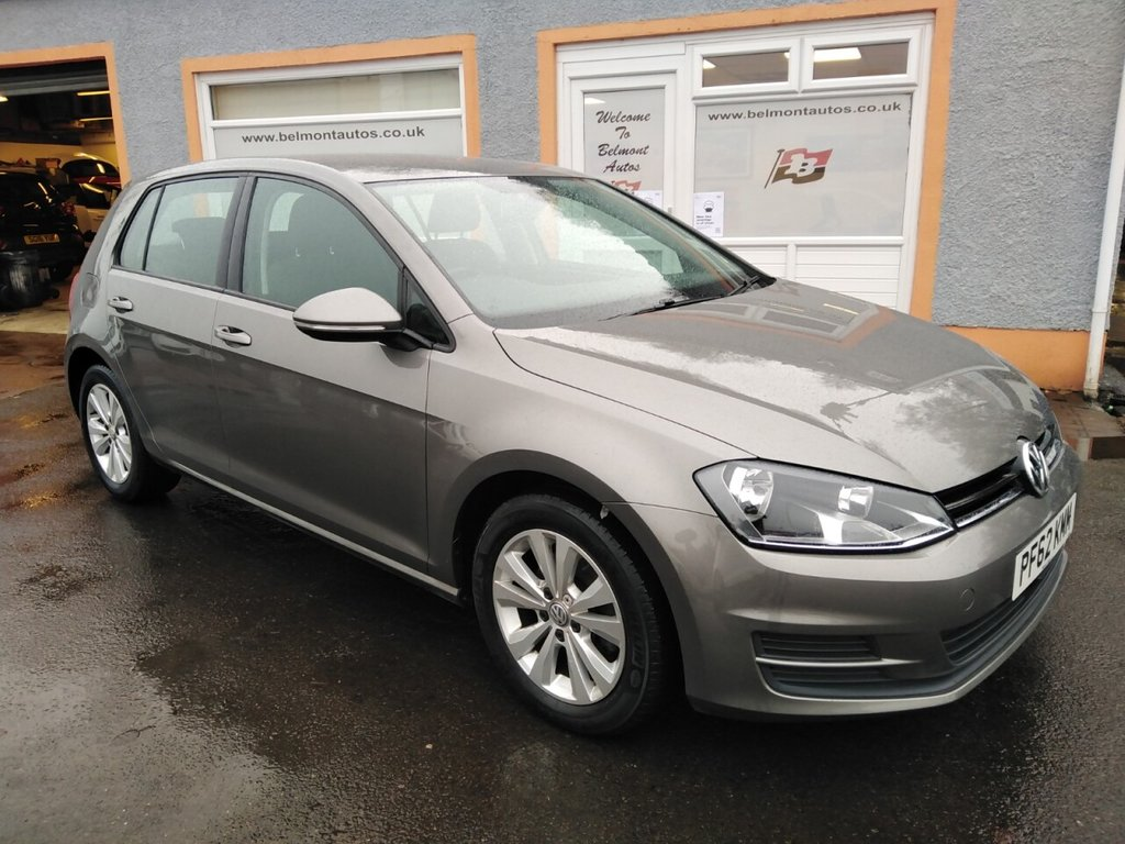 """USED 2013 62 VOLKSWAGEN GOLF 1.4 SE TSI BLUEMOTION TECHNOLOGY 5d 120 BHP 16"""" Alloys, Bluetooth, Cruise Control, Auto hold, Media Player"""