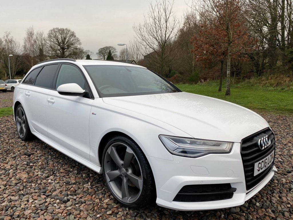 USED 2016 16 AUDI A6 2.0 AVANT TDI ULTRA BLACK EDITION 5d 188 BHP Free Nationwide Next Day Delivery