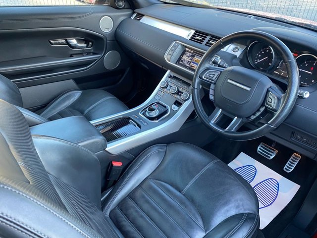 USED 2016 66 LAND ROVER RANGE ROVER EVOQUE 2.0 TD4 HSE DYNAMIC 3d 177 BHP Pan Sunroof