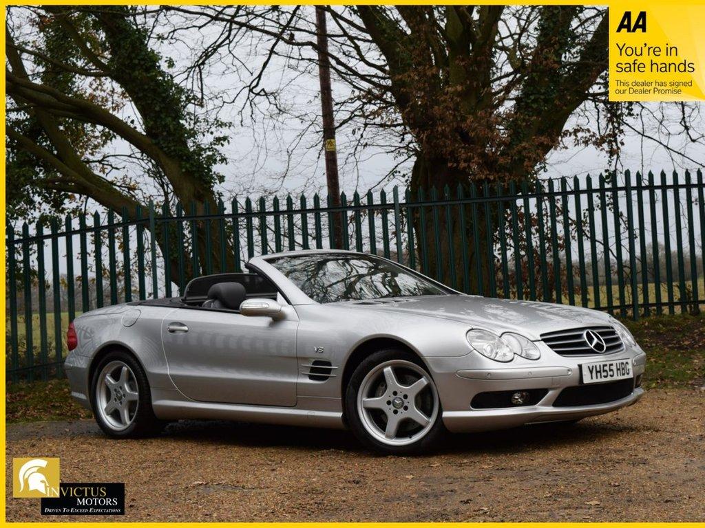 USED 2005 55 MERCEDES-BENZ SL 5.0 SL500 2d AUTO 302 BHP CONVERTIBLE