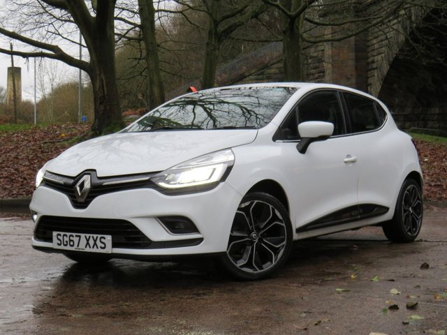 USED 2017 67 RENAULT CLIO 1.2 DYNAMIQUE S NAV TCE 5d 117 BHP