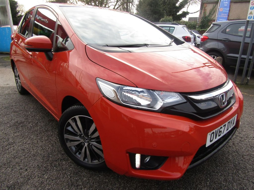USED 2017 67 HONDA JAZZ 1.3 I-VTEC EX 5d 101 BHP A one owner car Ex Motability **Full service history **Stylish; spacious **Buy locally price checked** Bluetooth alloys  ** Low rate finance ** 12Mths AA breakdown ** Click & deliver **