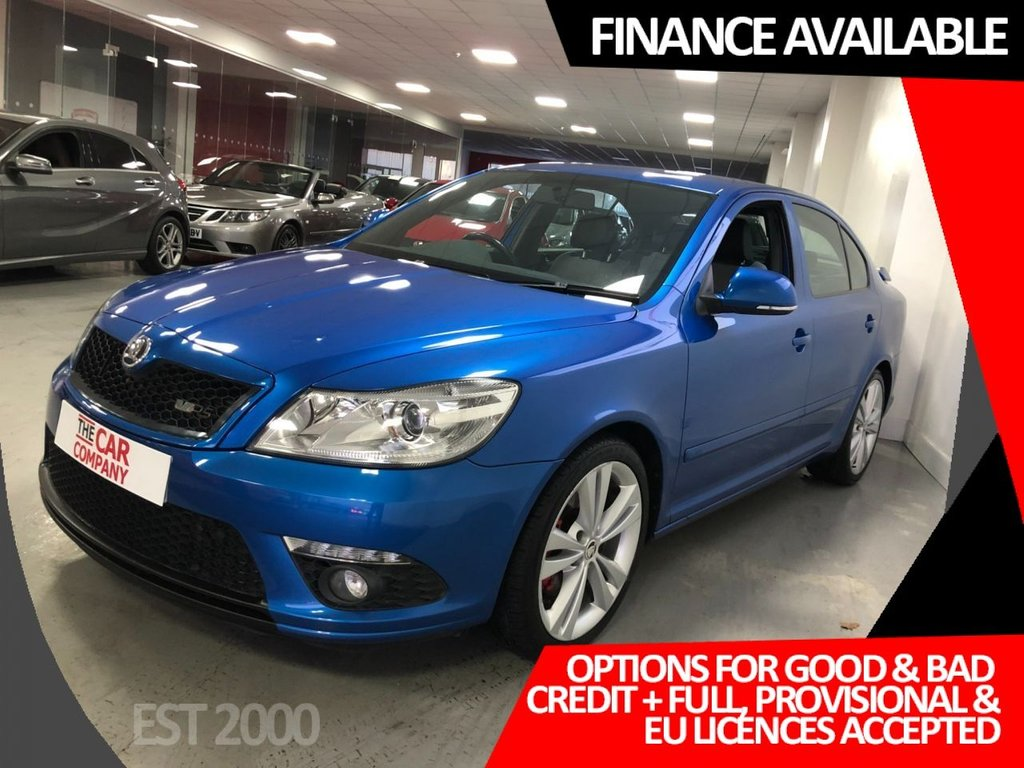 USED 2010 10 SKODA OCTAVIA 2.0 VRS TFSI 5d 198 BHP * 9 Services * Timing Chain Kit Oct 2020 * Oct 2021 MOT *