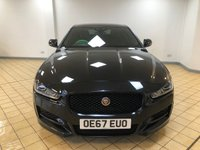 USED 2017 67 JAGUAR XE 2.0 D R-SPORT AWD 4d Family Sports Saloon AUTO with 4x4 Capability Perfect for the Winter plus Massive High Spec to Enjoy Recent Service & MOT plus 4 New Tyres, New Battery & Brakes  now Ready to Finance and Drive Away 1 Former Keeper + Masses of Spec