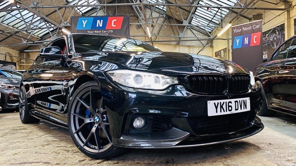 USED 2016 16 BMW 4 SERIES 2.0 420d M Sport xDrive 2dr PERFORMANCEKIT+XDRIVE+20S