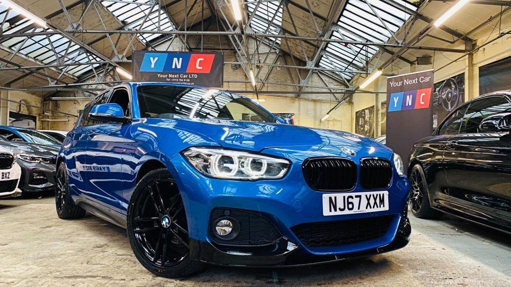 USED 2017 67 BMW 1 SERIES 2.0 118d M Sport Sports Hatch (s/s) 5dr PERFORMANCEKIT+FACELIFT+18S