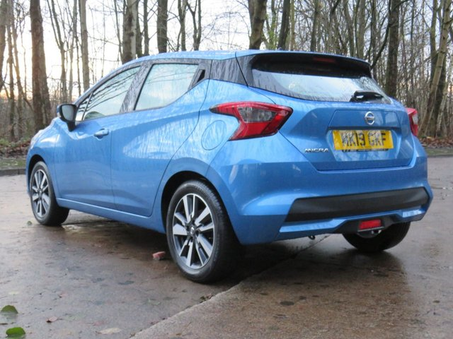 USED 2019 19 NISSAN MICRA 1.0 ACENTA LIMITED EDITION 5d 70 BHP
