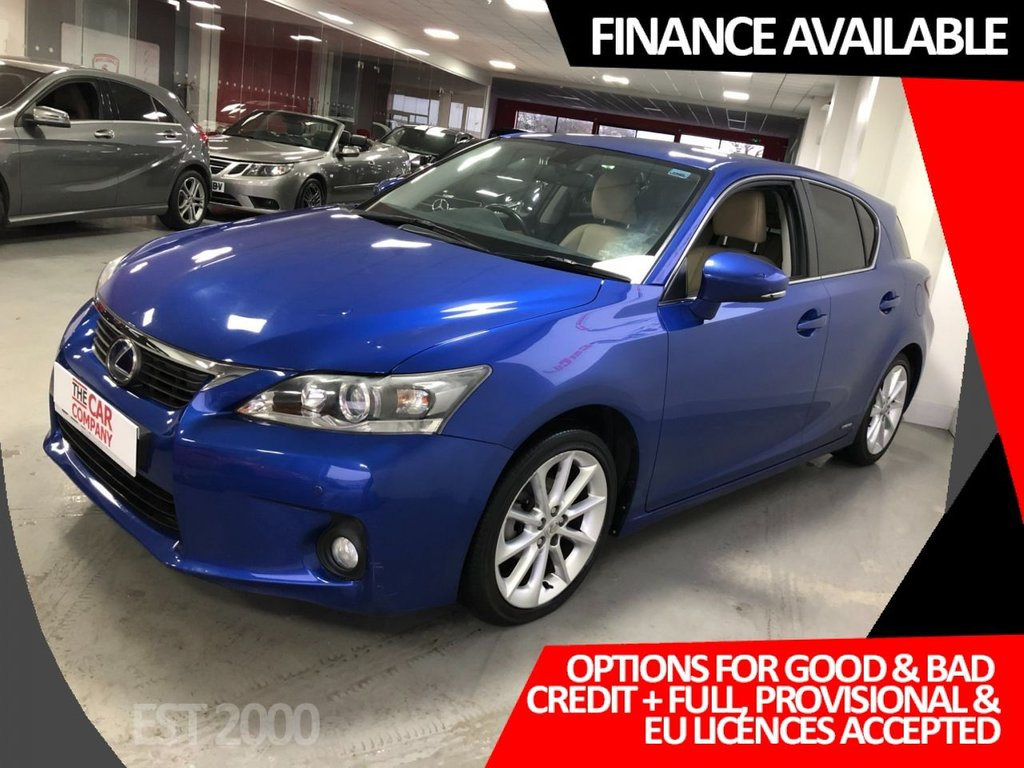 USED 2011 61 LEXUS CT 1.8 200H SE-L 5d 136 BHP * LOW MILES * 8 SERVICES * 2 KEYS * 12 MONTH MOT *