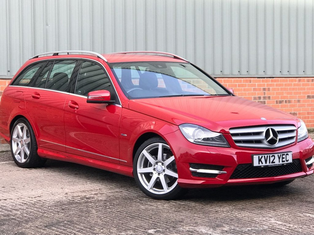 USED 2012 12 MERCEDES-BENZ C-CLASS 2.1 C220 CDI BLUEEFFICIENCY SPORT 5d 168 BHP EXCELLENT LOW MILEAGE EXAMPLE