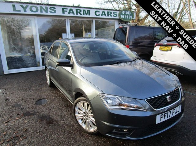 USED 2017 17 SEAT TOLEDO 1.2 TSI STYLE ADVANCED 5d 109 BHP Seat Service History + Just Serviced, One Previous Owner, NEW MOT, Great fuel economy!