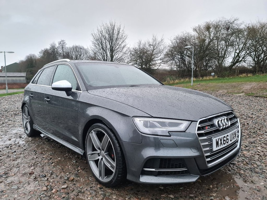 USED 2016 66 AUDI A3 2.0 S3 SPORTBACK QUATTRO 5d 306 BHP Free Next Day Nationwide Delivery