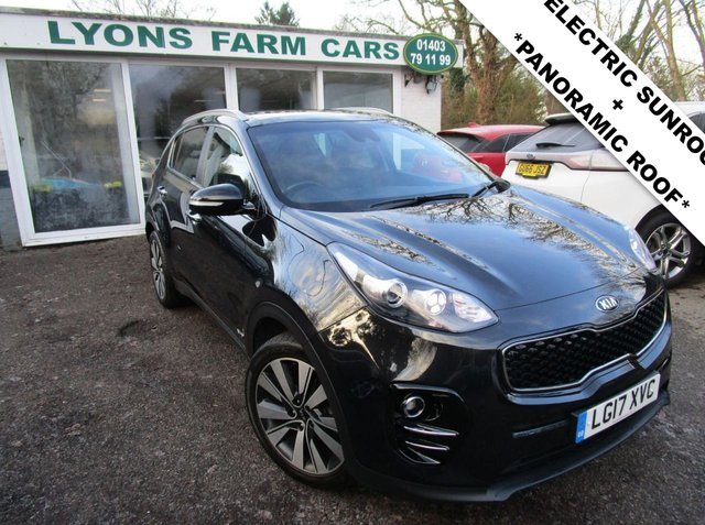 USED 2017 17 KIA SPORTAGE 2.0 CRDI KX-3 AWD 5d 134 BHP AUTOMATIC *ELECTRIC SUNROOF + PANORAMIC ROOF* ALL WHEEL DRIVE *Optional extra Electric Sunroof + Panoramic Sunroof* Service History + Just Serviced, One Previous Owner, NEW MOT, Automatic, All Wheel Drive