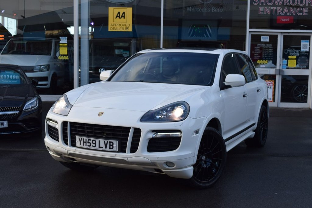 USED 2009 59 PORSCHE CAYENNE 4.8 GTS TIPTRONIC S 5d 405 BHP FINANCE TODAY WITH NO DEPOSIT - SERVICE HISTORY, EIGHT STAMPS
