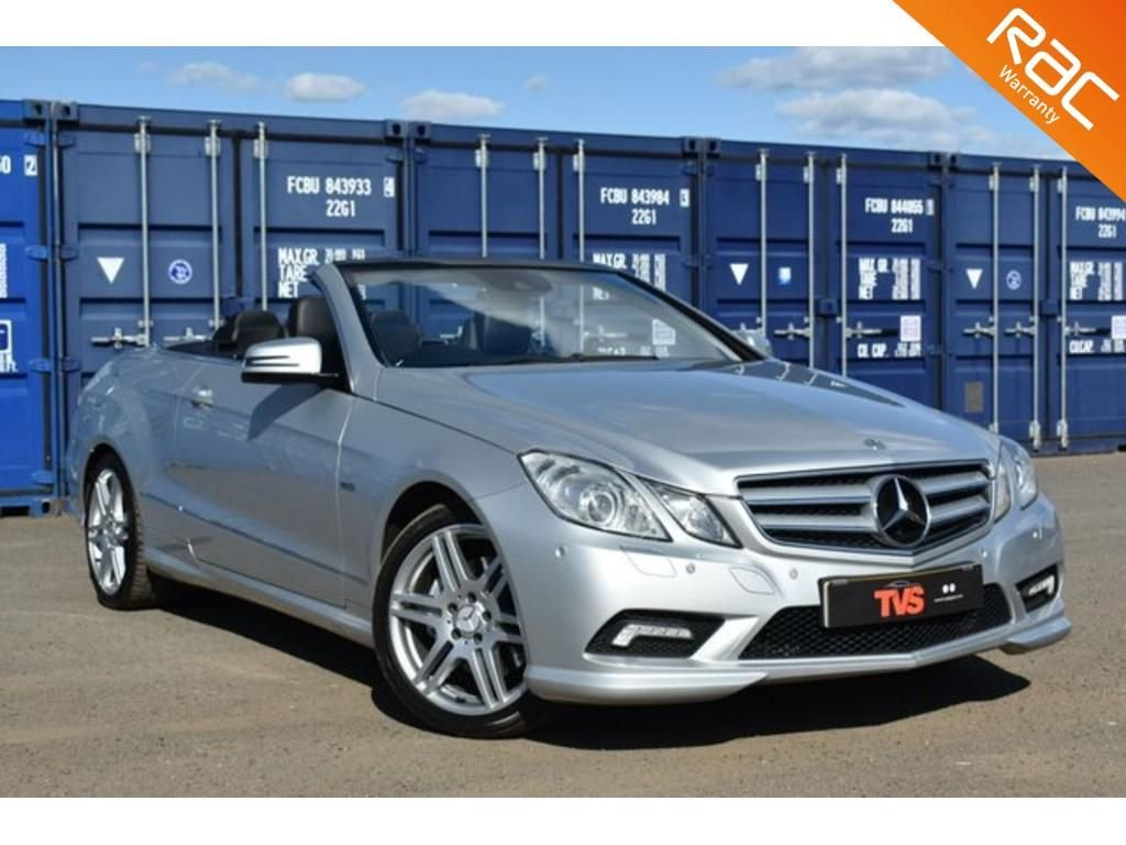 USED 2011 G MERCEDES-BENZ E-CLASS 3.0 E350 CDI BLUEEFFICIENCY SPORT 2d 231 BHP