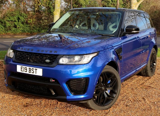 2015 15 LAND ROVER RANGE ROVER SPORT 5.0 SVR 5d 550 BHP AUTOMATIC
