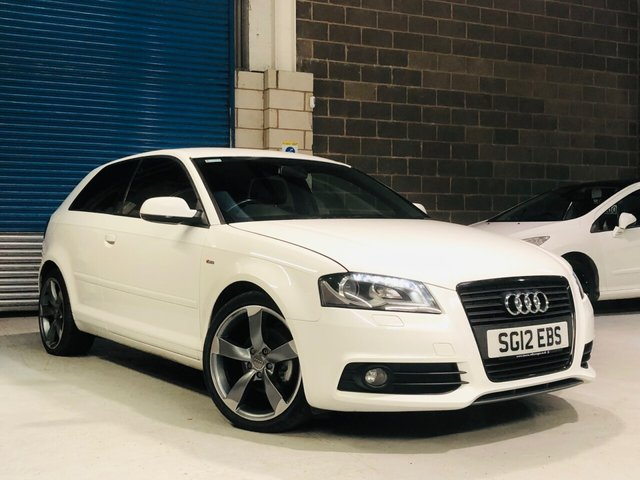 2012 12 AUDI A3 2.0 TDI S LINE SPECIAL EDITION 3d 138 BHP