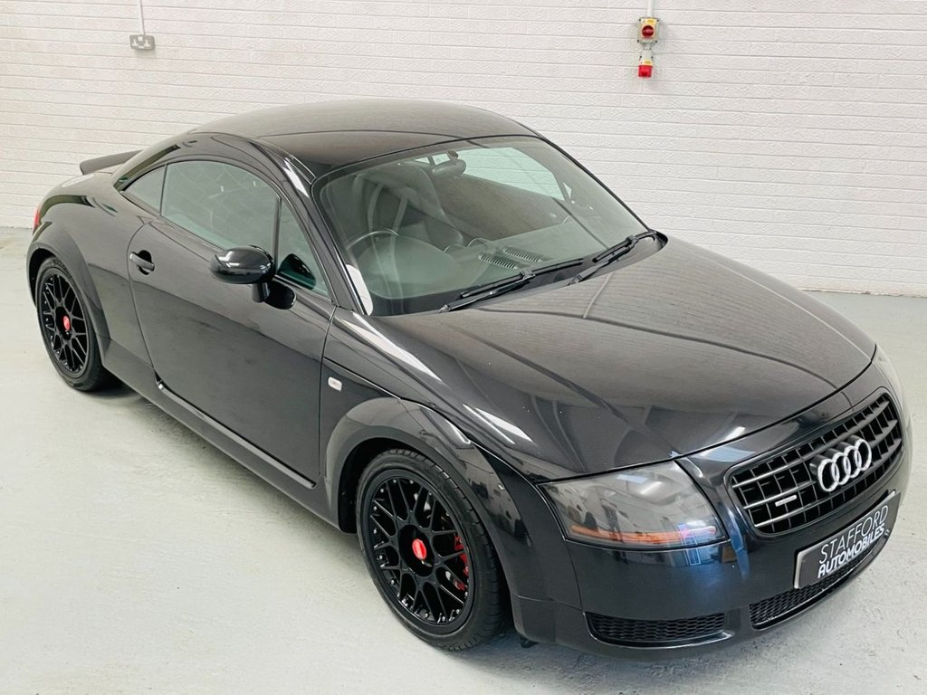 USED 2006 06 AUDI TT 1.8 T QUATTRO 3d 190 BHP HEATED LEATHER, BBS ALLOYS, FINANCE AVAILABLE