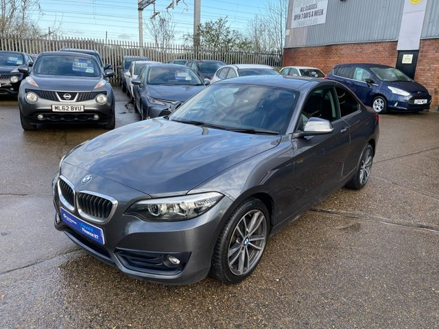 USED 2017 BMW 2 SERIES 1.5 218I SPORT 2d 134 BHP