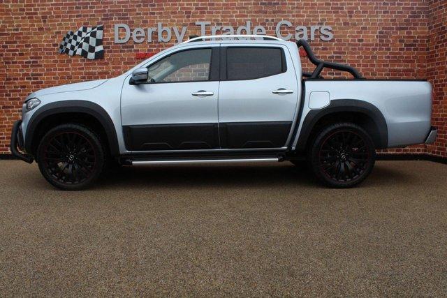 MERCEDES-BENZ X-CLASS at Derby Trade Cars