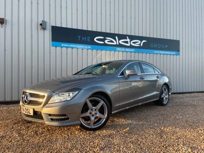 USED 2014 14 MERCEDES-BENZ CLS CLASS 2.1 CLS250 CDI BLUEEFFICIENCY AMG SPORT 4d AUTO 204 BHP COUPE