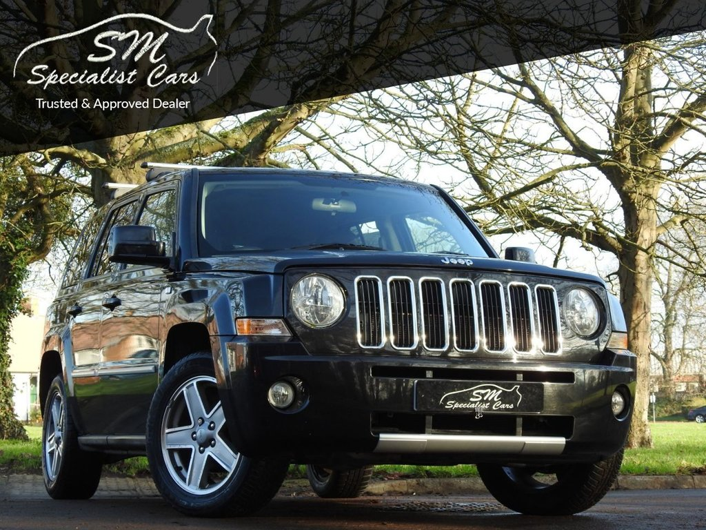 USED 2009 59 JEEP PATRIOT 2.4 S-LIMITED 5d 168 BHP ONLY 35K FROM NEW A/C VGC