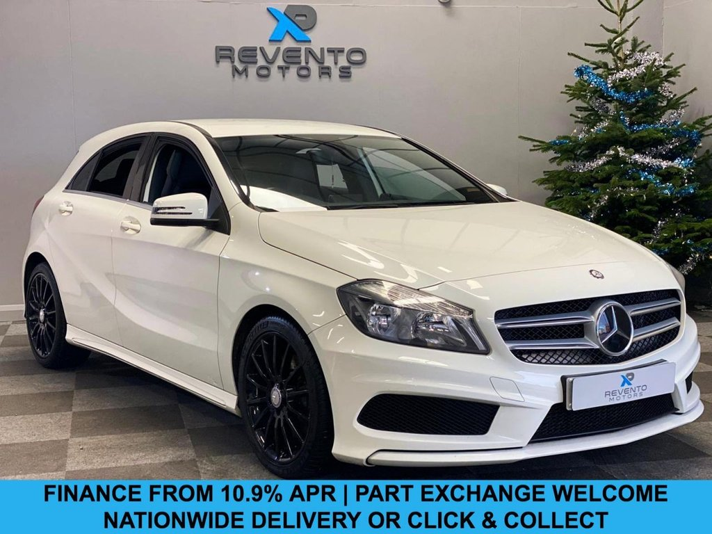 USED 2014 63 MERCEDES-BENZ A-CLASS 2.1 A220 CDI BLUEEFFICIENCY AMG SPORT 5d 170 BHP CLICK/COLLECT | NATIONWIDE DELIVERY