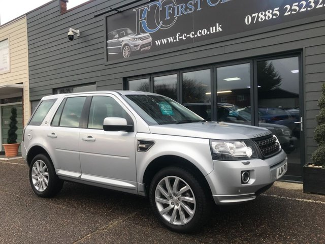 2014 14 LAND ROVER FREELANDER 2.2 SD4 SE TECH 5d AUTO 190 BHP